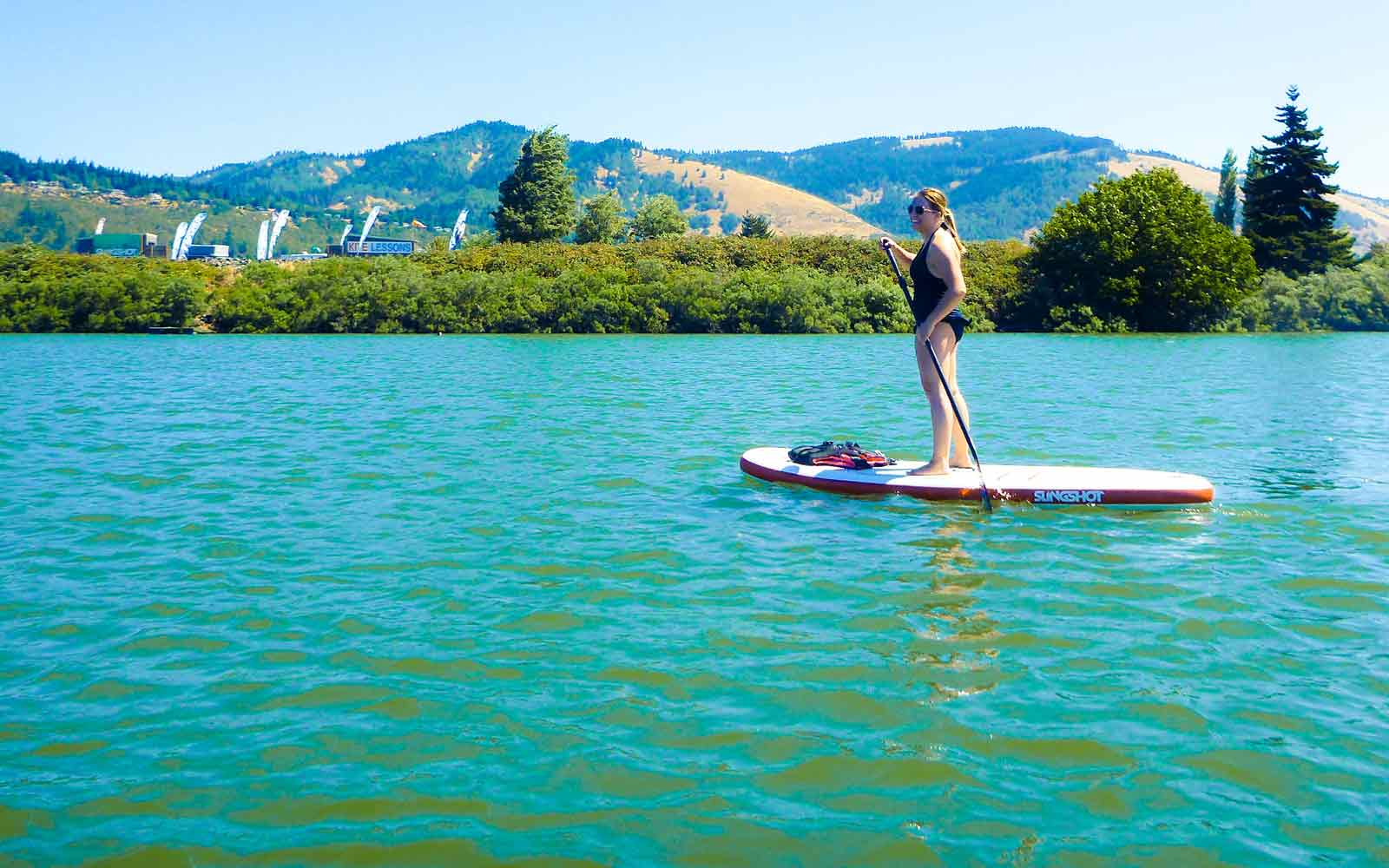 Hood River Stand up Paddle Boarding